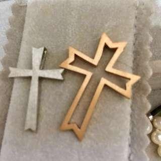 My Jewelry 十字架吊墜純銀套裝