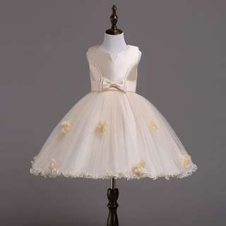 (Pre-order) Kids Princess Dress (Champange) #521