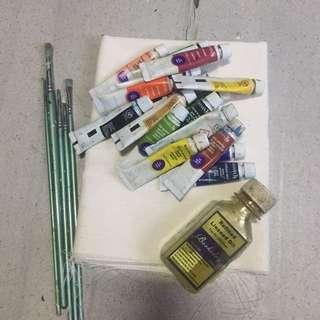 Oil Color bundle