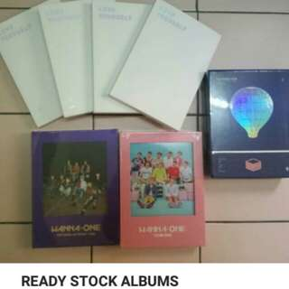 [ PRICE UPDATED ] READY STOCK ALBUMS