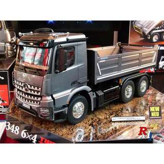 Tamiya 56357 Arocs 3348 Tipper Truck RC 雙星