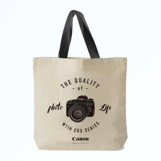 100%全新 Canon EOS 相機 Tote Bag