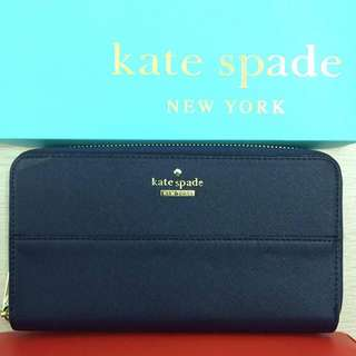 Kate Spade Wallet - Dark Blue