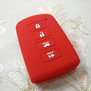 Toyota 4-button Key Silicone Cover (Highlander/Camry/RAV4/Avalon/Corolla Altis)