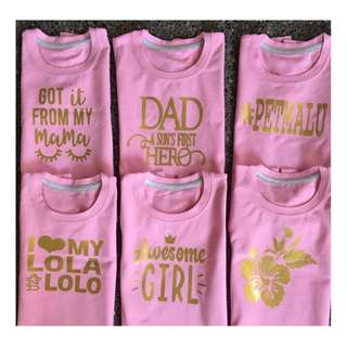 💖STATEMENT TEES FOR BB BOYS&GIRLS  (🎀1-5 y/o )