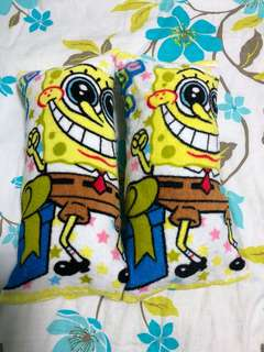 Spongebob Baby's Huggins Pillow