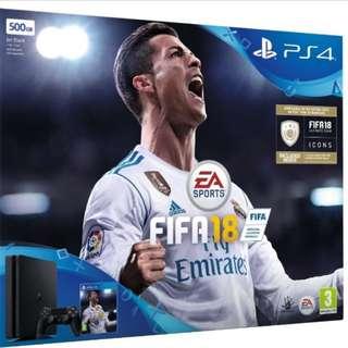 PS4 Slim ( 500GB ) FIFA Bundle