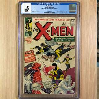 MARVEL COMICS X-Men #1-Origin & 1st Appearance of the X-Men (Professor X, Cyclops, Iceman, Angel, Beast & Marvel Girl)|1st Appearance of Magneto (Serious Buyers Only)
