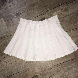 Tennis Skirt (white)