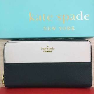Kate Spade Wallet - Black and White