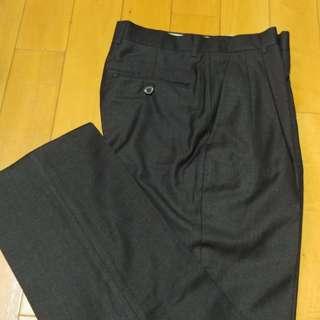 Giorgio Armani 男裝黑色西褲