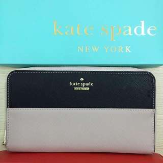 Kate Spade Wallet - Gray and Black
