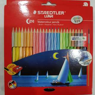 Staedtler Luna 24 Watercolour pencils