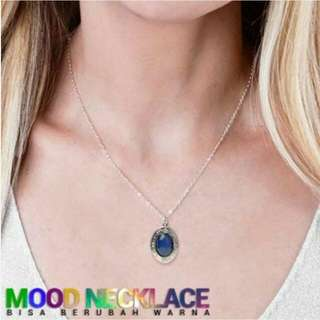 Kalung Mood Necklace Stainless Steel O Shape Bisa Berubah Warna