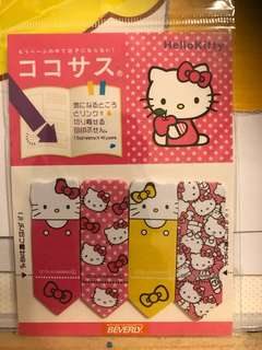 Hello kitty memo paper 便利貼 包郵