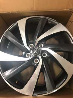 Toyota Harrier Turbo Sport Rim