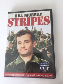 Bill Murray stripes dvd