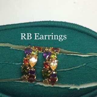 RB Swarovski Earrings