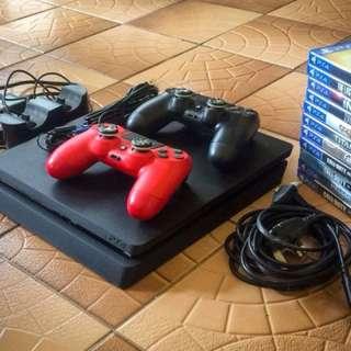 PS4 slim 500gb with warranty