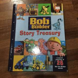 Pre-loved bob the builder story treasury book (hard cover)