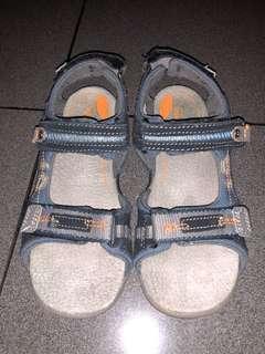 Stride Ride Navy Grey size 30, sepatu sendal anak cowok