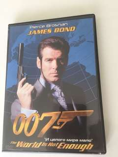 James Bond 007 dvd