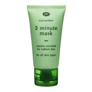 Boots Cucumber 3 Minutes Mask