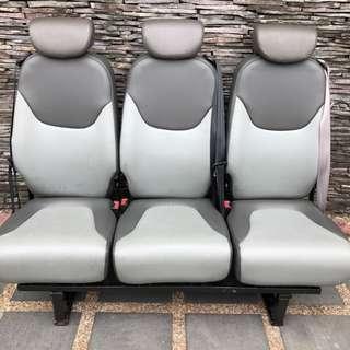 Van spare seats