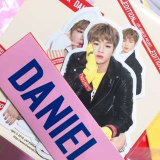 Kang Daniel Lap Sticker set