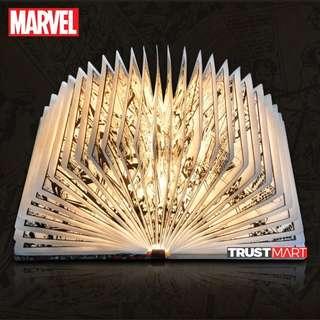 Original Marvel LED Light Comic Book Table Wall Mounted Lamp
