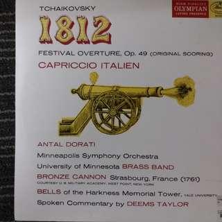 Tchaikovsky 1812 古典音樂黑膠碟