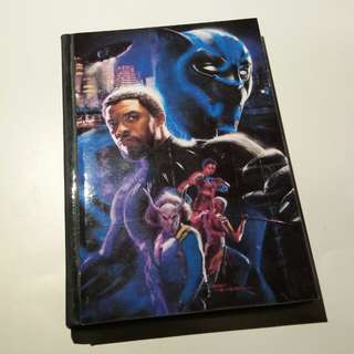 Black Panther A6 notebook