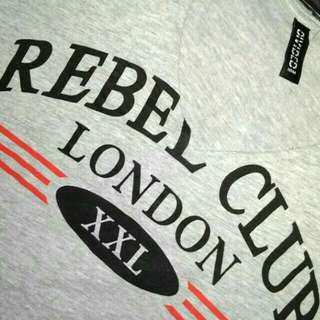 HnM croptop REBEL CLUB LONDON