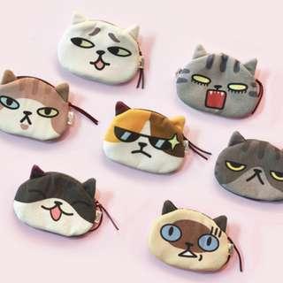 得意動物貓咪小包/收納袋 (多個樣)