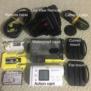 Sony Action Cam AS100V - price negotiable