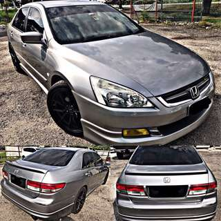 SAMBUNG BAYAR / CONTINUE LOAN   HONDA ACCORD MAFIA 2.0 AUTO