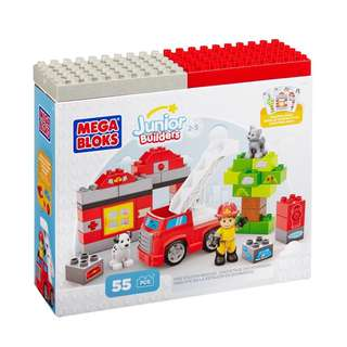 Brand New Mega Bloks Fire Station Rescue Set