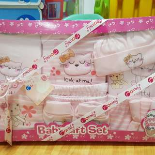 14-pcs new born baby gift set (brand new & unopened)