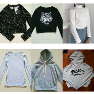 Pullovers/Hoodies🌸💗 (NO NEGO)