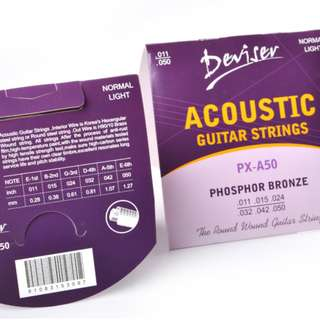 Deviser Acoustic Guitar String - NORMAL LIGHT (FREE Delivery, Buy 2 FREE 1)