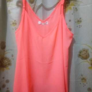 PLUS SIZE Neon Pink Top