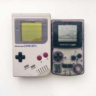 Gameboy DMG & Color (CUSTOMER'S ORDER)