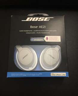 Bose AE2i headphones (Apple devices only) - Price nego
