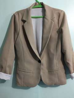 Preloved colored blazers: Green/Tan 450 each