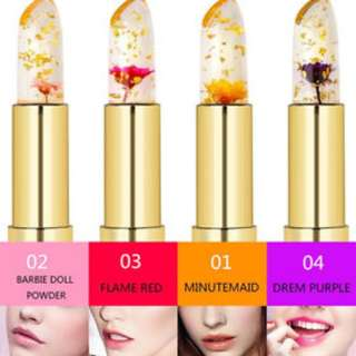 Authentic Kailijumei Flower Jelly Lipstick Free Normal Mail