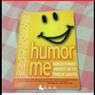 Humor Me Funny Book From America (Brand New)