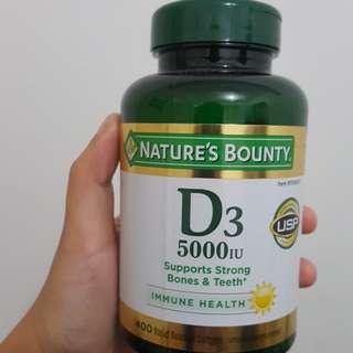 Nature's Bounty D3 5000 IU