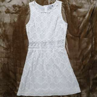 Cotton On White Summer Dress