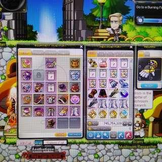 Maplestory Aqulia Account