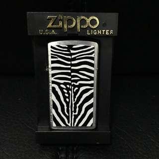 Zippo Lighter - Zebra Fur